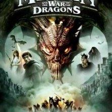 La locandina di Merlino e la battaglia dei draghi