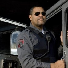 Laurence Fishburne in una scena di Armored