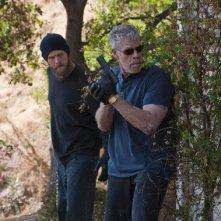 Sons of Anarchy: Ron Perlman e Ryan Hurst nell'episodio Falx Cerebri