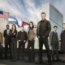 24: una foto promozionale del cast della stagione 8