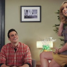 30 Rock: Jane Krakowski e Cheyenne Jackson nell'episodio The Problem Solvers