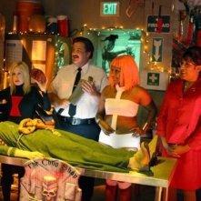 The Office: Kelly Kapoor, Angela Martin ed Oscar Martinez nell'episodio Koi Pond