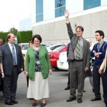 The Office: Rainn Wilson ed Ed Helms nell'episodio Shareholder Meeting