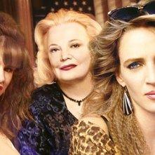 Uma Thurman, Juliette Lewis, Gena Rowlands in una foto promo de Gli occhi della vita