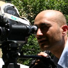 Una foto di Ruben Maria Soriquez sul set