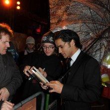 Reece Ritchie alla premiere di Londra di Amabili resti