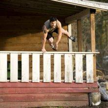 Jacob (Taylor Lautner) corre in aiuto di Bella nel film Twilight: New Moon