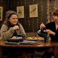 Josiane Balasko e Ariane Ascaride in una scena de Il riccio