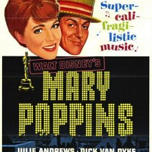 Locandina del film Mary Poppins ( 1964 )