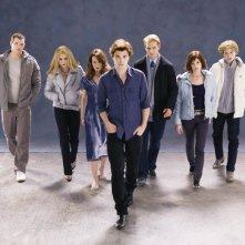 Una foto promozionale della famiglia Cullen, protagonista del film Twilight