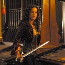 Anna Valerious (Kate Beckinsale) in una sequenza del film Van Helsing