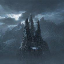 Il castello del Conte Dracula e delle sue spose nel film Van Helsing