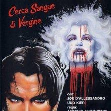 poster di Dracula cerca sangue di vergine e... morì di sete!