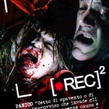 Teaser poster italiano (2) per il film Rec 2