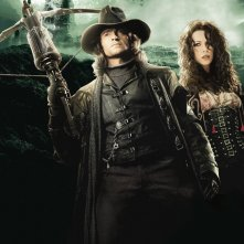 Un'immagine di Van Helsing con Hugh Jackman e Kate Beckinsale