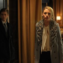 Aaron Tveit e Blake Lively in una scena dell'episodio Treasure of Serena Madre di Gossip Girl