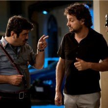 Francesco Pannofino e Leonardo Pieraccioni in un'immagine del film Io e Marilyn