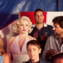 Suzie Kennedy e Leonardo Pieraccioni in una scena del film Io e Marilyn