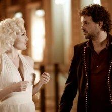 Suzie Kennedy e Leonardo Pieraccioni in una sequenza del film Io e Marilyn
