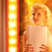 Suzie Kennedy sul set del film Io e Marilyn