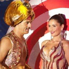 Biagio Izzo e Barbara Tabita in una sequenza del film Io e Marilyn