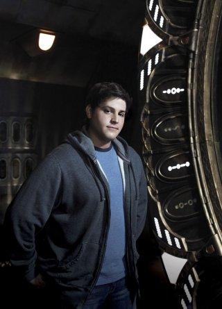 David Blue in una foto promozionale della prima stagione di Stargate Universe