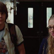 Johnny Simmons e Amanda Seyfried in una scena del film Jennifer's Body