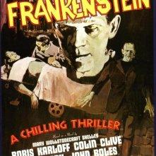 Locandina del film Frankenstein (1931) con Boris Karloff