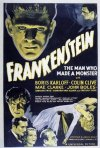 Locandina del film Frankenstein (1931) di James Whale