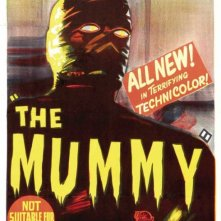 Una bella locandina del film La mummia (1959)