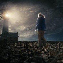 Saoirse Ronan in una suggestiva immagine del film Amabili resti