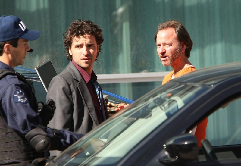 David Krumholtz Charlie Ricevera Aiuto Dalla Guest Star Fisher Stevens John Buckley Nell Episodio Con Job Di Numb3Rs 141267