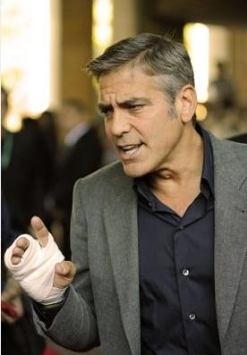 George Clooney, protagonista di Up in the Air