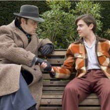 Zac Efron e Christian McKay in una sequenza del film Me and Orson Welles