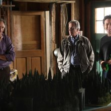 Alan (Judd Hirsch), l'Agente Roger Bloom (Henry Winkler) e Don (Rob Morrow) nell'episodio Old Soldiers di Numb3rs