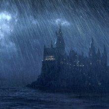 I Dissennatori si dirigono ad Hogwarts nel film Harry Potter e il Prigioniero di Azkaban