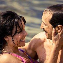 Micaela Ramazzotti e Sergio Albelli in una scena de La prima cosa bella di Virzì