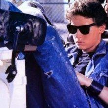 Ross Hill in una sequenza del film Renegade - un osso troppo duro