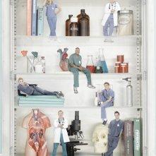 Scrubs: Una immagine promozionale del cast della stagione 9