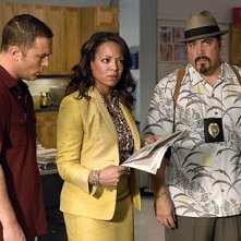 Dexter: Desmond Harrington, David Zayas e Lauren Vélez nell'episodio Remains to Be Seen