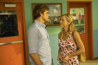 Dexter: Michael C. Hall e Julie Benz nell'episodio The Getaway