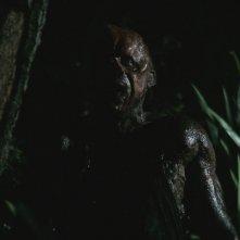 Il terribile Victor Crowley alias Kane Hodder nell'horror Hatchet