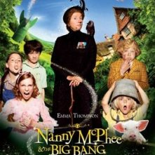 Secondo poster USA per Nanny McPhee and the Big Bang