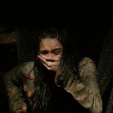 Tamara Feldman in una scena del film Hatchet