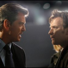 Ewan McGregor e Pierce Brosnan nel film Uomo nell'ombra (The Ghost Writer) di Roman Polanski.