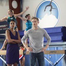 Make it or Break it: Marsha Thomason e Neil Jackson nell'episodio The Eleventh Hour