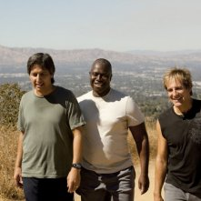 Ray Romano, Scott Bakula e Andre Braugher in un momento della serie Men of a Certain Age