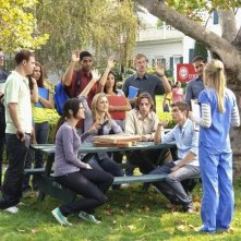 Scrubs: una scena dell'episodio Our First Day of School