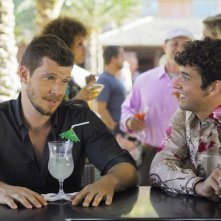 Ugly Betty: Eric Mabius e Michael Urie  nell'episodio The Bahamas Triangle