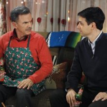 Ugly Betty: Ralph Macchio e Tony Plana nell'episodio Be-Shure